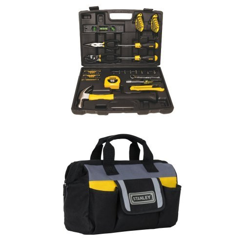 Stanley 94-248 65-Piece Homeowner's Tool Kit w/ Tool Bag