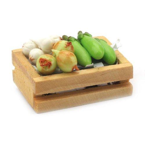 MyTinyWorld Dolls House Miniature Crate of veg