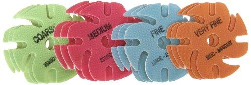 Jooltool 3M Ninja Trizact Assortment Pack, Green, Red, Bl...