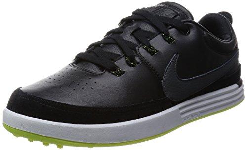 (NIKE Golf Men's Lunarwaverly High Performance Golf Shoe, Black/Sail/Volt/White, 8 D(M) US)
