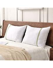 JZSPillows for Sleeping Hotel Pillows Queen Size Set of 2, Down Alternative Bed Pillows