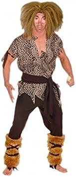 Disfraz de Cavernícola hombre adulto para Carnaval (L): Amazon ...