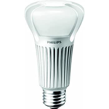 Philips Led Dimmable A21 Frosted Light Bulb 1180 Lumen 2700 Kelvin 15 Watt 75 Watt
