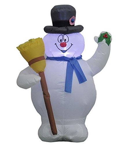 Frosty The Snowman Inflatable 3.5 Feet Tall ()