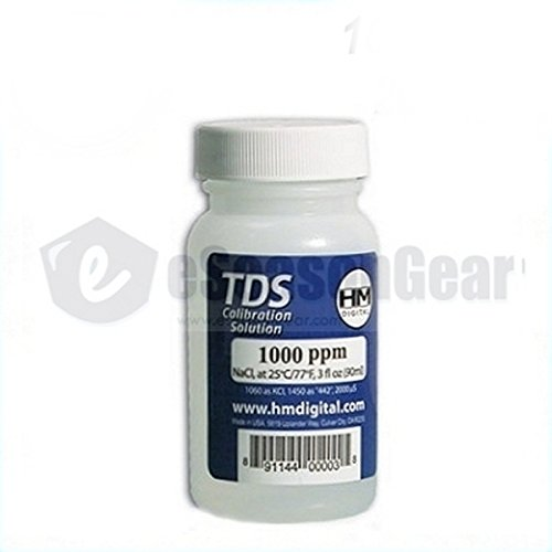 HM Digital 1000ppm TDS Calibration - Calibration Solution