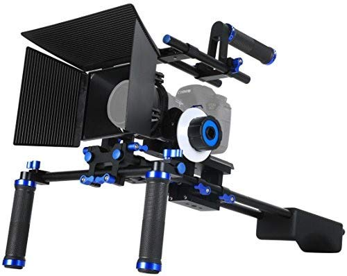 Morros Pro DSLR Rig Movie Kit Shoulder Mount Rig +