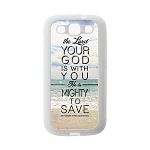 Bible Verse Protective Gel Rubber Back Fits Cover Case for SamSung Galaxy S3