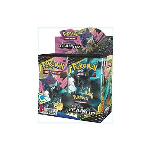 Pokemon TCG: Sun & Moon Team Up, 36 Pack Booster - 36ct Booster Box