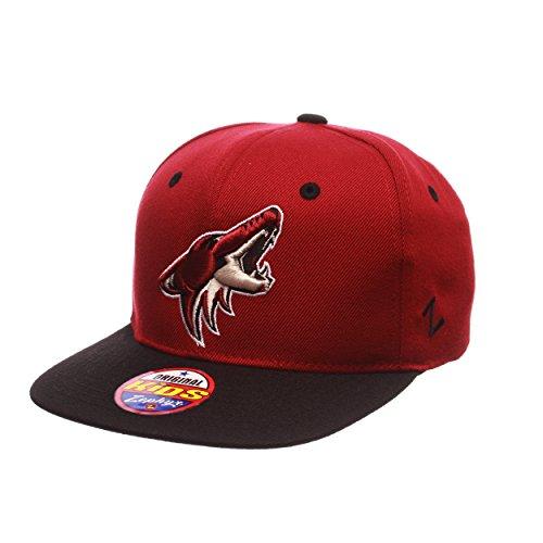 Nhl Youth Hat - NHL Phoenix Coyotes Youth Boys Z11 Snapback Hat, Adjustable, Cardinal