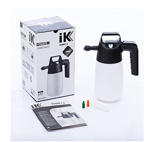 iK FOAM 1.5 PUMP SPRAYER | 35 oz | Professional Auto Detailing; Dry / Wet Foam Spray