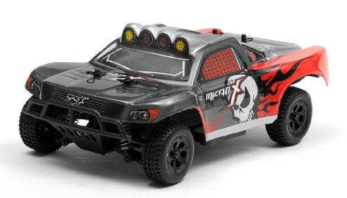 MicroX Racing 1/24 Micro Scale RC Short Course Truck Ready to Run 2.4ghz (Micro Nitro Rc)