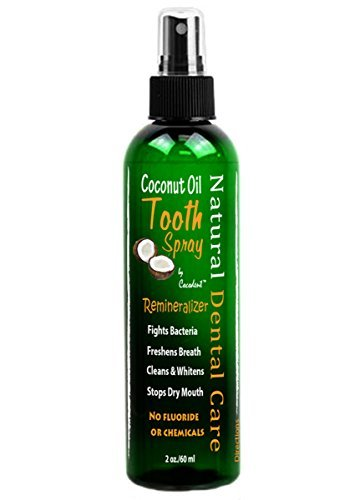 Coconut Oil Remineralizing Tooth Spray with Chocolate - Spray Toothpaste
