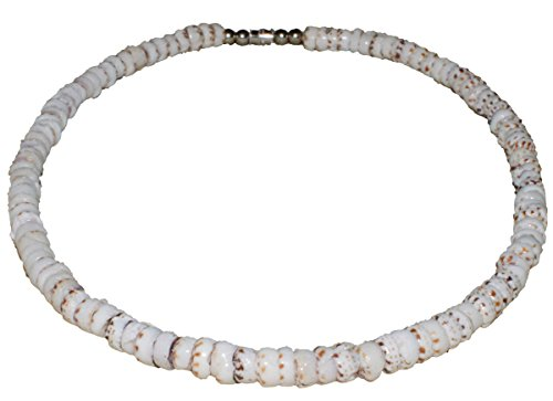 Tiger Puka Shell Necklace - 3