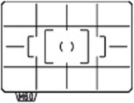 Pentax ML-60 Pantalla de enfoque dividido Mate Para K-7 Envío Gratuito