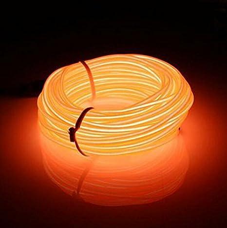 Amazon.com : Lysignal 16ft Neon Glowing Strobing Electroluminescent ...