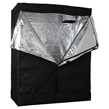 48 x24 x72  Indoor Grow Tent Room 100% Reflective Mylar Hydroponic Non  sc 1 st  Amazon.com & Amazon.com : Viagrow Grow Room Tent 2u0027 x 4u0027 x 6.5u0027 : Plant ...