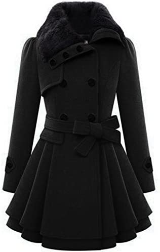 Zeagoo Womens Fashion Double Breasted Trench product image