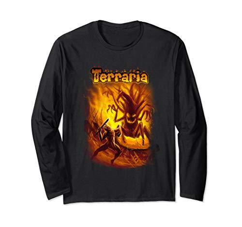 Terraria Halloween Clothes (Terraria Long Sleeve T-Shirt: Mourning)