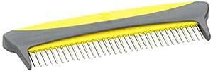 JW Pet Company 5-Inch Gripsoft Rotating Comfort Comb, Medium