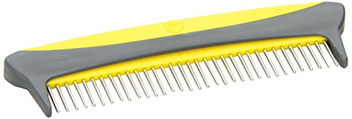 JW Pet Company 5-Inch Gripsoft Rotating Comfort Comb, Medium