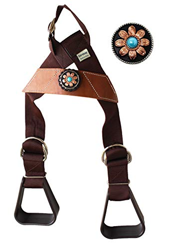 CHALLENGER Horse Saddle Western Kids Child Youth Pony Buddy Stirrups w/Concho 5138CO546