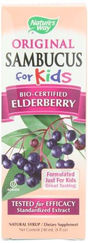 Природы Путь Sambucus для детей Bio-сертифицированной бузины, 8 унций