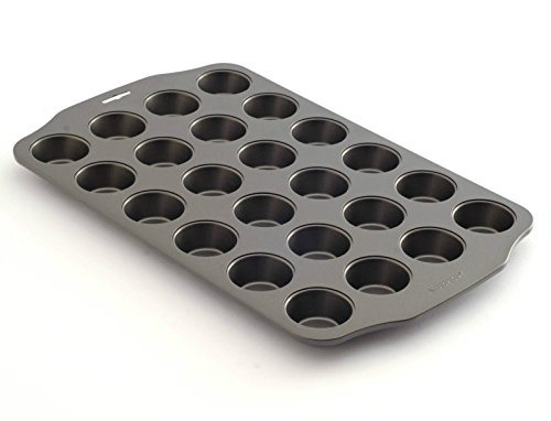 Kitchen, Dining & Bar Professional Nonstick 24 Cup Mini Muffin Pan (Copper Muffin Pan compare prices)