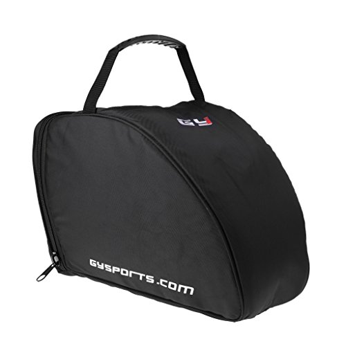 D DOLITY Professional Padded Equipment Bag for Ice Hockey Helmet Goalie Mask Carrying Storage Bag