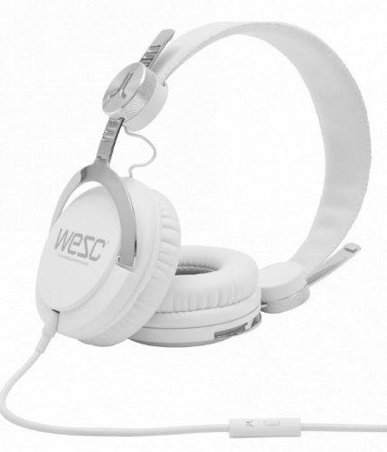 WESC: Bass Headphones - White