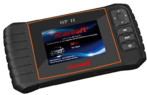 iCarsoft OP II for Opel NEW VERSION professional diagnostic tool scanner - PLUS FREE ANTI-SLIP PAD ($10 Value) by iCarsoft (Image #5)