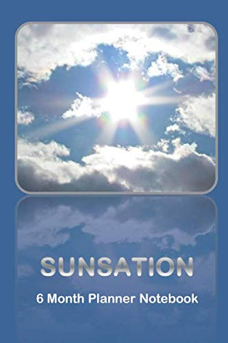 """Professional SUNSATIONAL Matte Cover Convenient Size 6"""" X 9"""" With 100 PagesThis minimalist, free form, and yet classic planner and notebook is a multi-purpose blank and lined book. You decide how you want to use it. It could be a journal, sketchbook,..."""