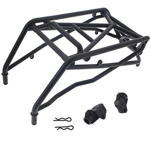 (HPI 1/8 Savage XL Octane * ROLL BAR FRAME, SIDE CHASSIS MOUNTS & CLIPS * Cage)