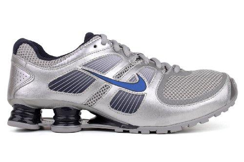 75edaea13456 Nike Shox Turbo 11 BG (GS) Big Kids Metallic Silver Obbsidian-Metallic Boys  Shoes 407772-002 - Buy Online in Oman.