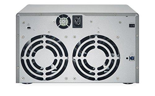 QNAP UX-800P 8-bay Storage Expansion Enclosure, Desktop, SATA 6Gbps, USB 3.0