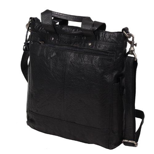 Spikes & Sparrow Vintage Rucksack schwarz, R - 983 SA 01