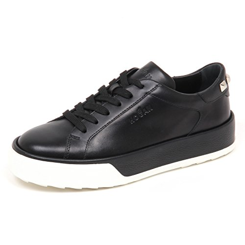 R320 Woman Donna Sneaker E4516 Hogan Shoe Black Scarpe Borchie IqSPC