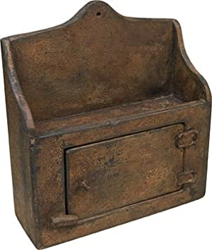 Shelf Box Primitive Wood Thermostat Cover ANY COLOR