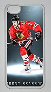 Diy iphone 5 5s case BRENT SEABROOK Custom PC Transparent Case for iPhone 5 5S by LZHCASE