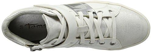 Comb 112 Basses white Sneakers 25833 Femme Tamaris Blanc xwUgYq60