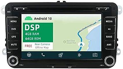 Yuntx Android 10 Car Radio Fits Vw Passat Golf Skoda Elektronik
