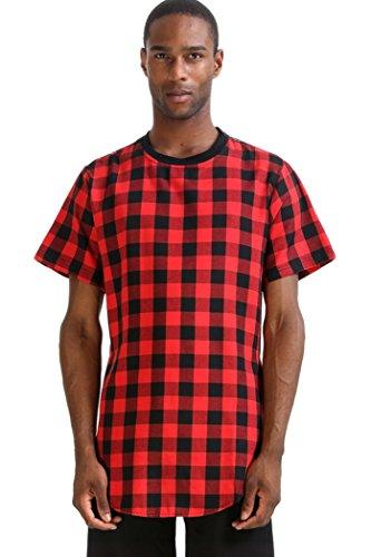 extended t shirt side split - 1