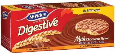 Mcvities Digestive Milk Chocolate Biscuits, 10.5 Ounce - 12 per case.