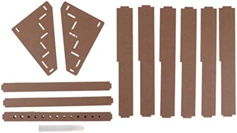 木製エポキシツール収納スタンドホルダーペイントラックオーガナイザー3層