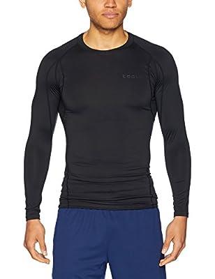 Tesla Men's Long Sleeve T-Shirt Baselayer Cool Dry Compression Top MUD11/MUD01