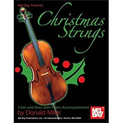 christmas strings cello bass with piano accompaniment