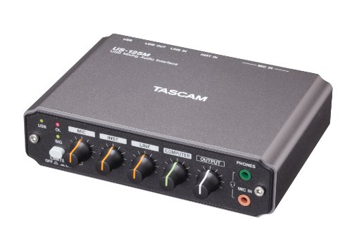 Tascam US-125M USB Audio Interface with Mixer