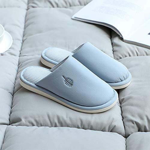 35 Con 37 Lianaio 38 Caldo Mezza In Di Panno Cotone Pantofole Antiscivolo Adatto Pavimento Borsa A 36 Casa Per SBZSgnx