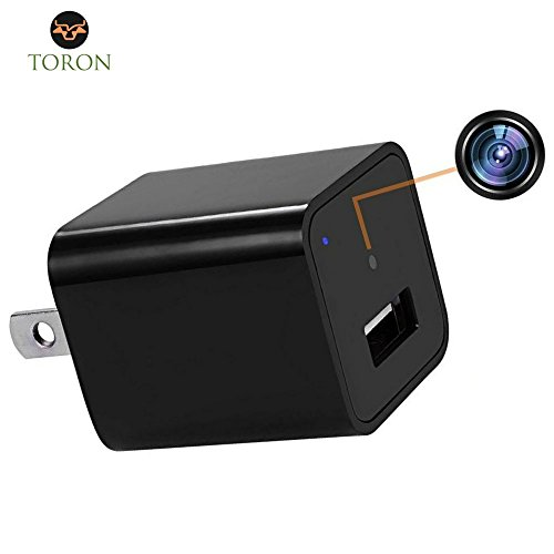Hidden Camera WiFi looks like USB charger to be connected to wall, video resolution of 1080p HD, 32GB SD card, Motion Detection system, surveillance for your security, wireless operated