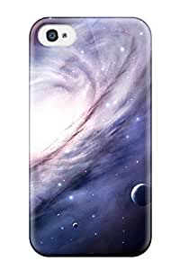 Iphone 4/4s Cover Case - Eco-friendly Packaging(space)