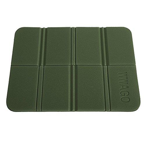 CN-Culturegg Outdoor Folding Camping Cushion Waterproof Sitting Mat,Green